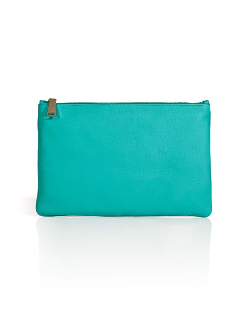 Jil Sander | Женское Turquoise Leather Large Pouch Gr. One Size