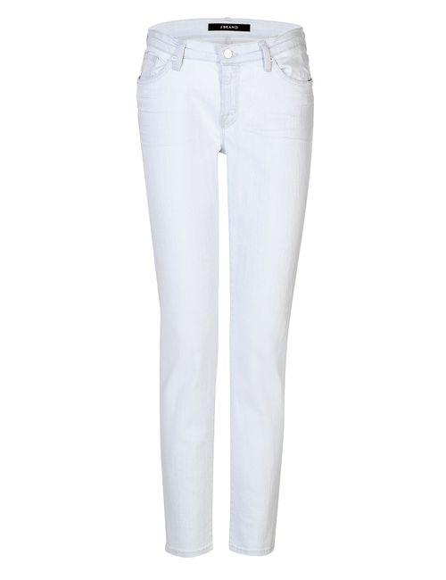 J Brand | Белый Bleached Slouchy Skinny Jeans Gr. 25