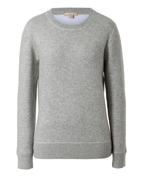Michael Kors Collection | Серый Cotton-Cashmere Blend Sweatshirt Gr. S