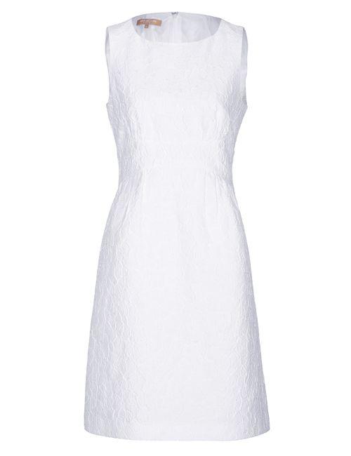 Michael Kors | Женское Cotton-Silk Blend Embroidered Sheath Gr. 32