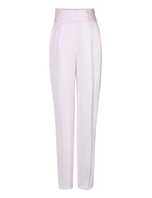 Balmain | Женское Белый High-Waited Tuxedo Pants Gr. Fr 40