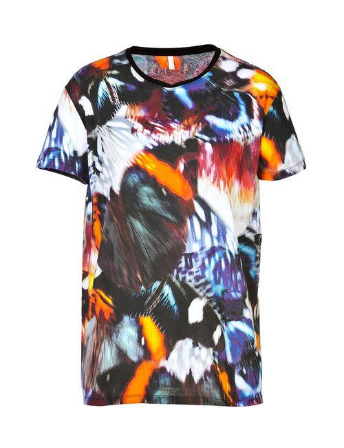 Faith Connexion | Женское Многоцветный Cotton Butterfly T-Shirt For Gr. S