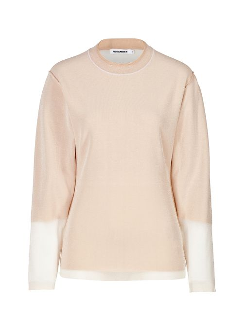 Jil Sander | Женское Rose Two-Tone Top Gr. 34