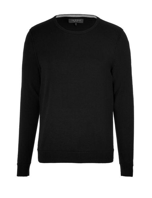 Rag & Bone | Мужское Чёрный Wool Pullover Gr. S