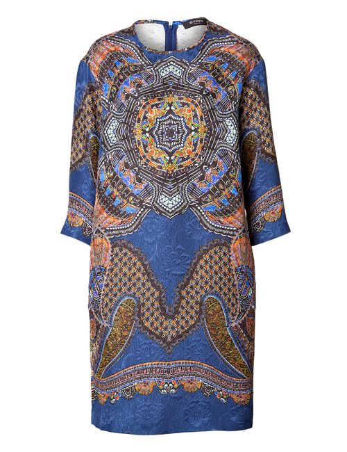Etro | Женское Cotton-Silk Printed Shift Dress Gr. 34