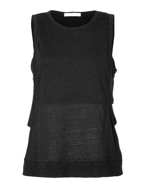 A.L.C. | Женское Linen Layered Bandeau Tank Top Gr. M