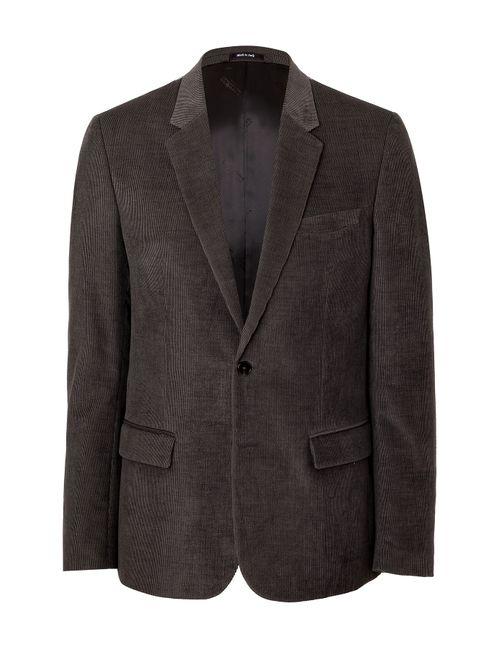 Maison Margiela | Мужское Серый Cotton-Flax Blazer Gr. Eu 52