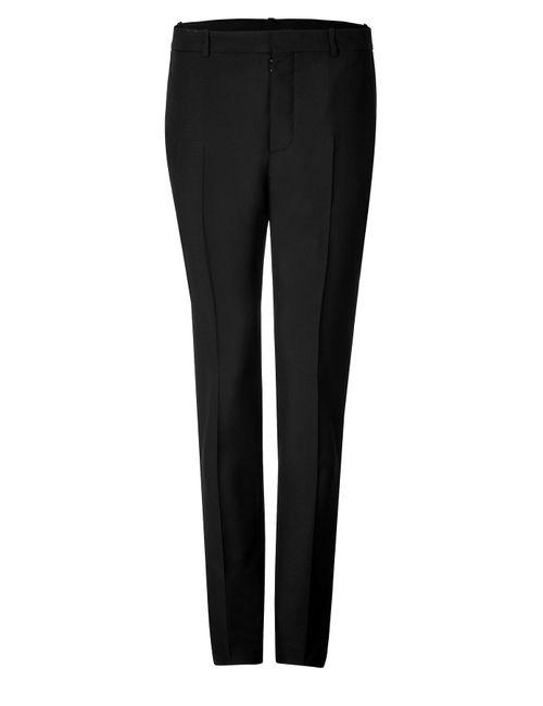 Maison Margiela | Мужское Черный Wool-Mohair Tuxedo Pants Gr. Eu 50