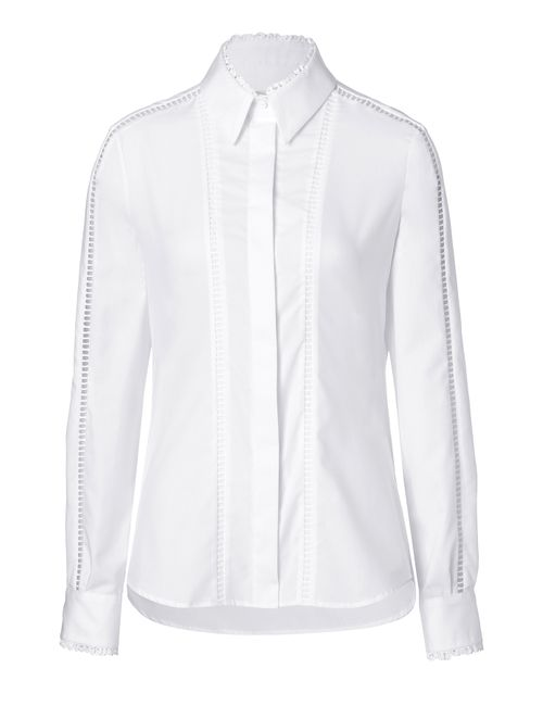 Preen By Thornton Bregazzi | Женское Белый Cotton Crane Shirt Gr. S