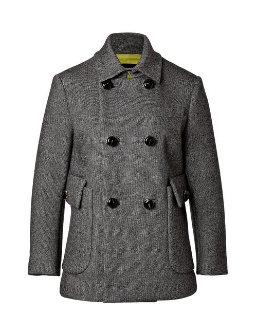 Dsquared2 | Женское Серый Wool Blend Double-Breasted Jacket Gr. 38