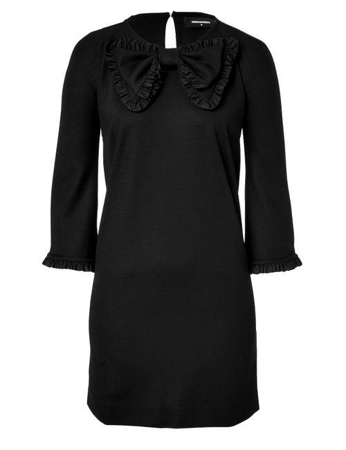 Dsquared2 | Женское Чёрный Jersey Dress With Bow Gr. M