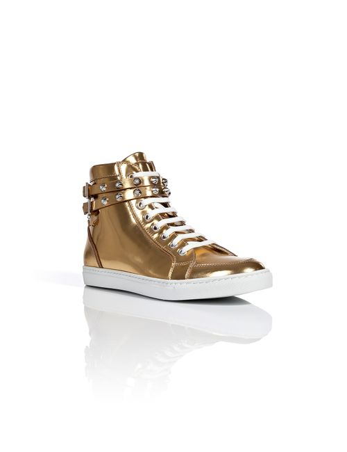 Dsquared2 | Женское Золотой Metallic Leather Sneakers Gr. 36