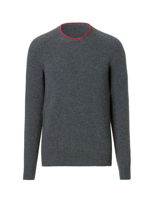 Jil Sander | Мужское Зелёный Wool-Cashmere Pullover Gr. 48