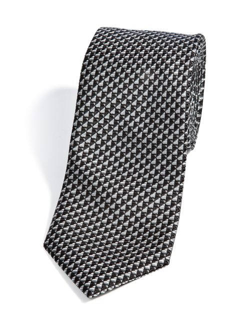 Brioni | Мужское Чёрный Patterned Silk Tie Gr. One Size