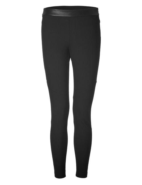 Rag & Bone | Чёрный Leggings With Leather Waist Gr. 40