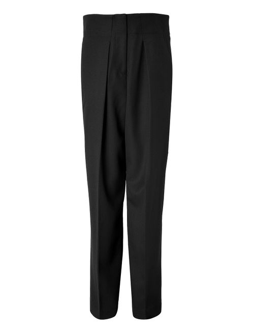 3.1 Phillip Lim | Женское Чёрный Wool Wide Leg Pants Gr. 6