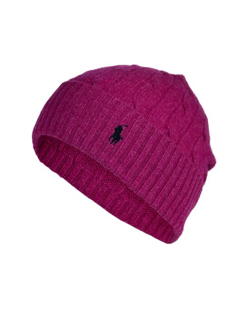 Polo Ralph Lauren | Женское Merino Wool-Cashmere Cable Knit Hat Gr. One