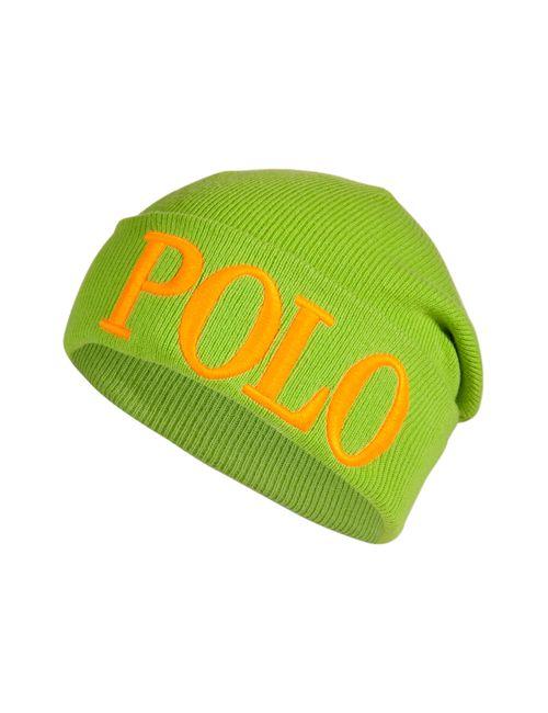Polo Ralph Lauren | Женское Зелёный Knit Logo Beanie Gr. One Size