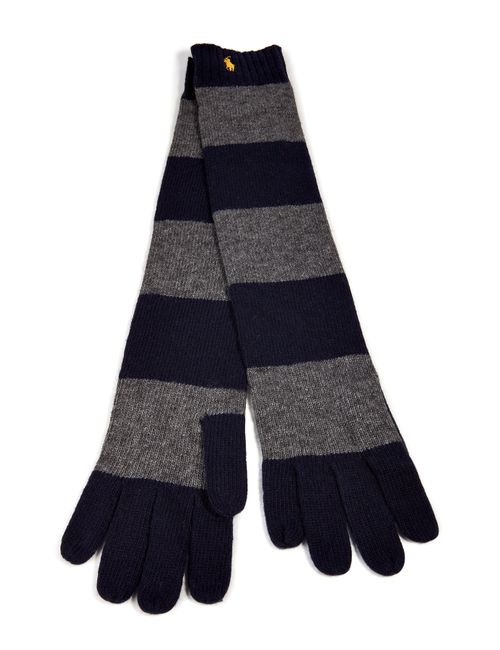 Polo Ralph Lauren | Stripes Striped Knit Gloves Gr. One Size