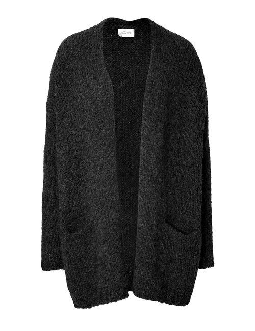 American Vintage | Женское Чёрный Alpaca-Wool Cardigan Gr. M/L