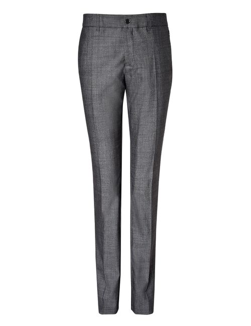 Clemens en August | Женское Многоцветный Slim Leg Wool-Silk Trousers Gr. 34