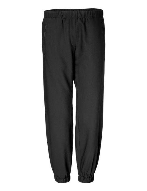 Clemens en August | Женское Чёрный Wool Harem Pants Gr. 34