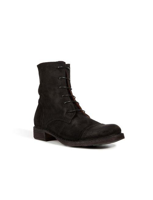 Fiorentini+Baker | Мужское Чёрный Suede Lace-Up Boots Gr. 40