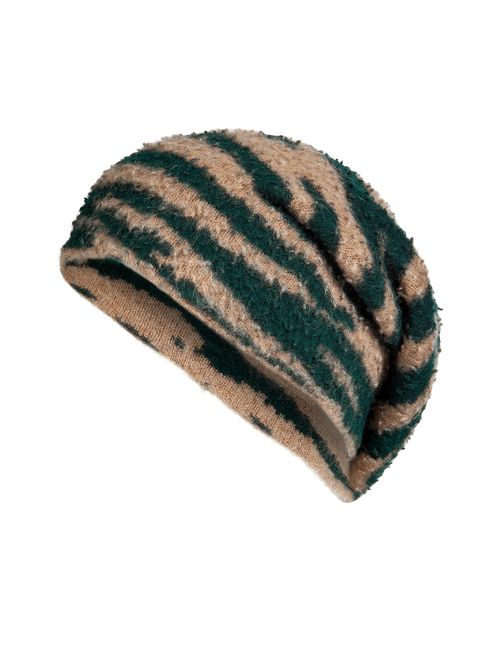 Marc Jacobs | Animal Prints Cashmere-Wool Printed Cap Gr. M