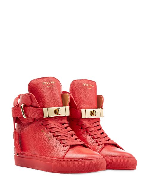 Buscemi | Женское Красный Leather Wedge Sneakers Gr. 8