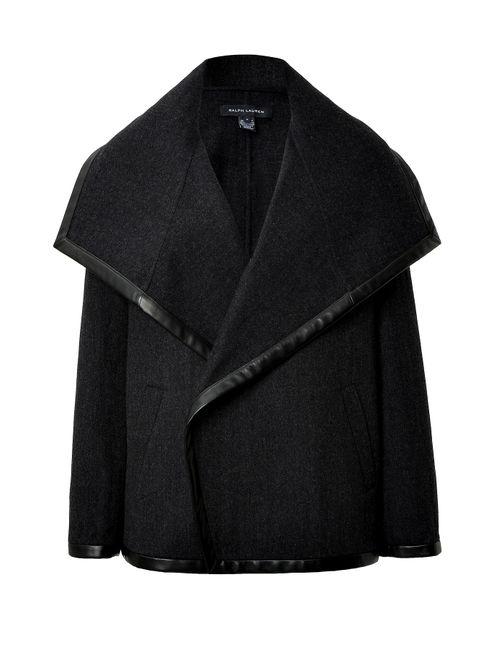 Ralph Lauren Black Label | Женское Серый Wool-Cotton Talisa Coat Gr. Us 6