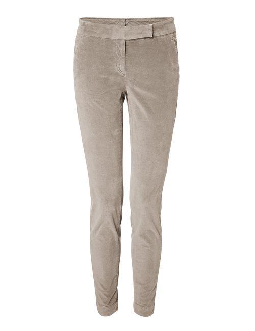 Brunello Cucinelli   Женское Camel Skinny Velvet Pants Gr. 40