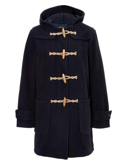 Polo Ralph Lauren | Синий Wool Blend Duffle Coat Gr. S