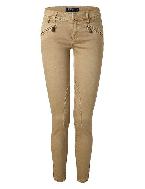 Polo Ralph Lauren | Женское Бежевый Stretch Cotton Jodhpur-Style Jeans Gr. 30