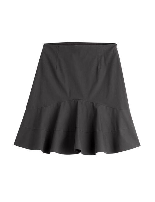 Etro | Женское Чёрный Flared Cotton Skirt Gr. It 48