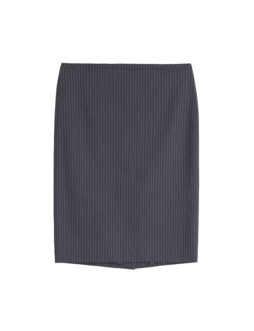 Hugo | Женское Синий Wool-Blend Ranina Pencil Skirt Gr. 34