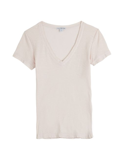 James Perse | Женское Rose Cotton T-Shirt Gr. L