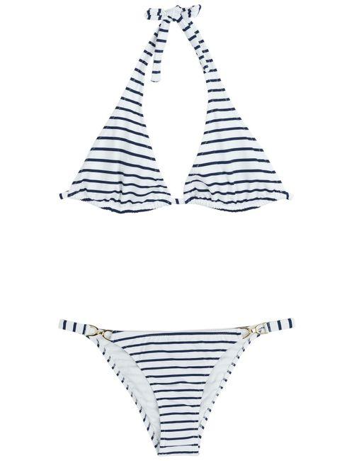 Melissa Odabash | Женское Striped Halter Bikini Gr. It 40