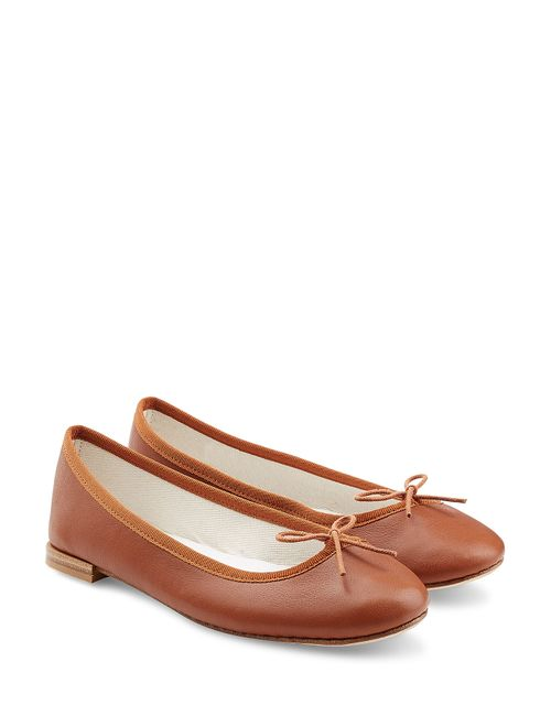 Repetto | Женское Camel Cendrillon Leather Ballet Flats Gr. 38