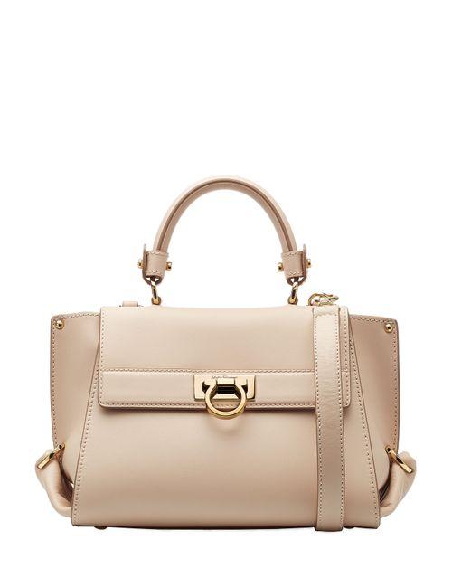 Salvatore Ferragamo | Женское Бежевый Sofia Mini Leather Tote Gr. One Size
