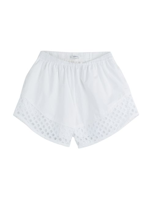 Carven | Женское Белый Cotton Shorts With Cut-Out Detail Gr. 36