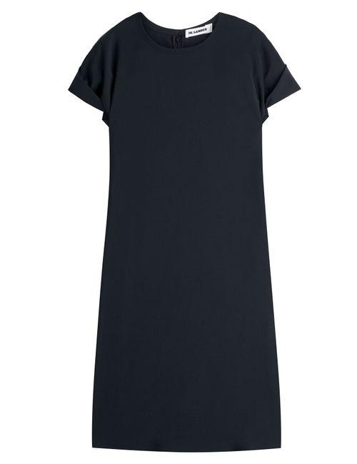 Jil Sander | Женское Синий Wool Dress Gr. 34