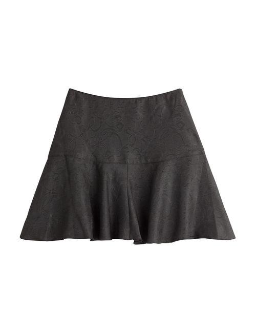 Anna Sui | Женское Черный Jacquard Skirt Gr. 32