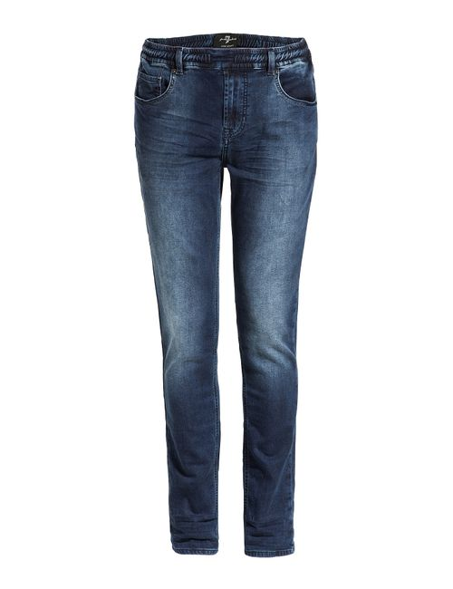 7 for all mankind | Мужское Синий Stretch Denim Slim Jeans Gr. S