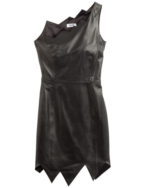 Moschino Cheap and Chic | Женское Оранжевый Leather Dress Gr. 36