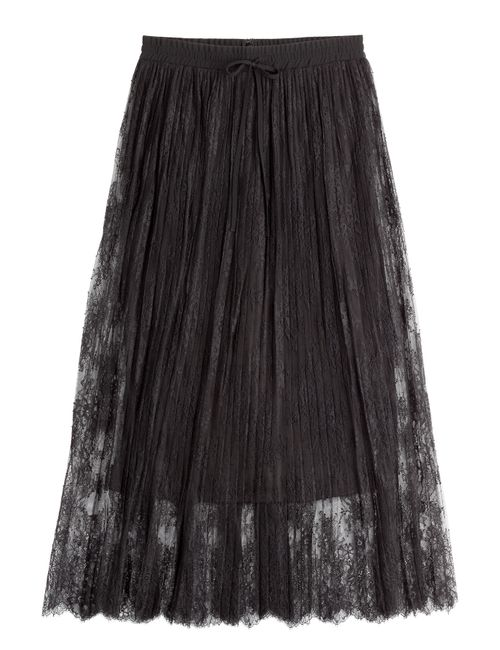 The Kooples | Женское Чёрный Lace Maxi Skirt Gr. S