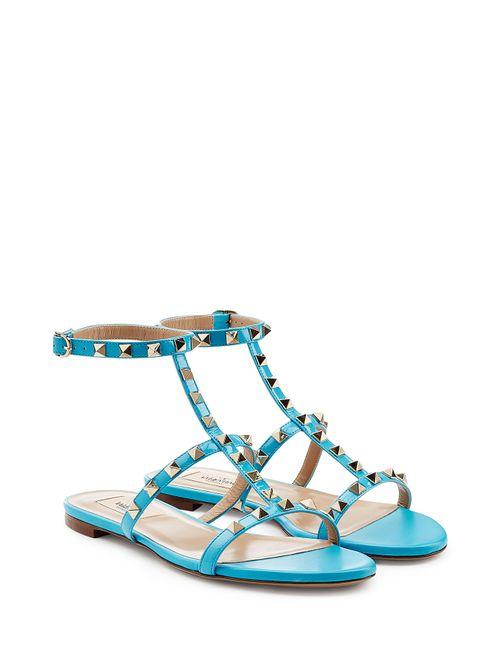 Valentino | Женское Синий Rockstud Sandals Gr. 36