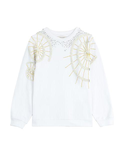 Paul & Joe | Белый Embellished Sweatshirt Gr. S