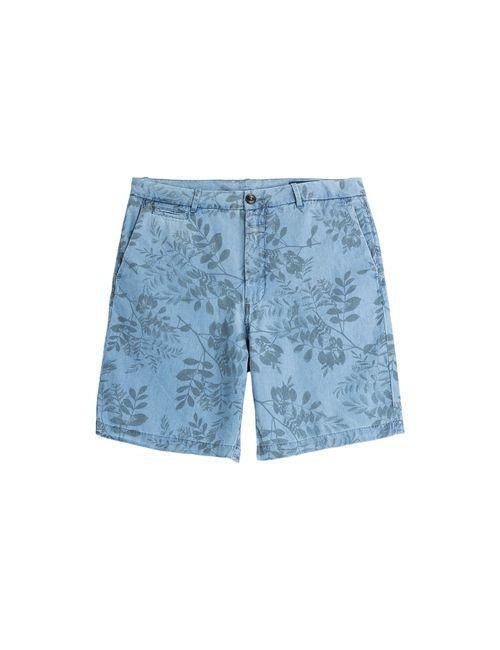 Closed | Мужское Синий Printed Bermuda Shorts Gr. 34