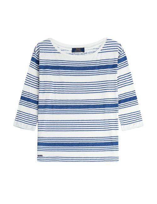 Polo Ralph Lauren   Женское Stripes Rebekah Linen Top Gr. S