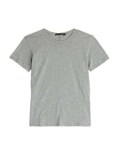 Rag & Bone | Женское Серый Tomboy Cotton T-Shirt Gr. Xs